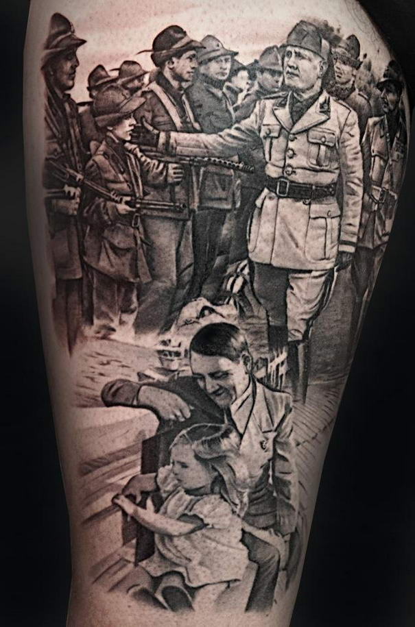 10 most impressive tattoos by matteo pasqualin