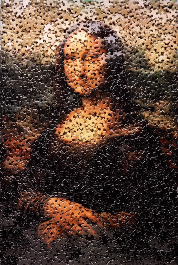 Mona Lisa - From Puzzles