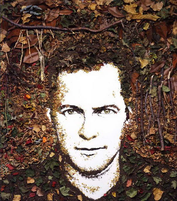 Self Portrait - From Tree - Leafs and Soil