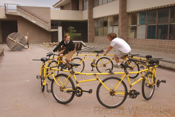 Bicycles Circular Bike