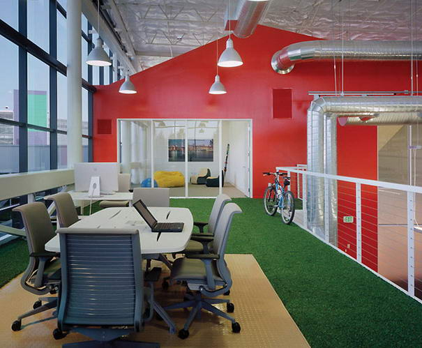 Inspiring Workspaces Googleplex