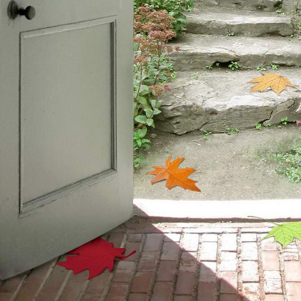 Loose Leaf Doorstop
