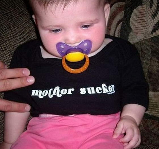 10 Most Hilarious Baby T-shirts | The Most 10 Of Everything