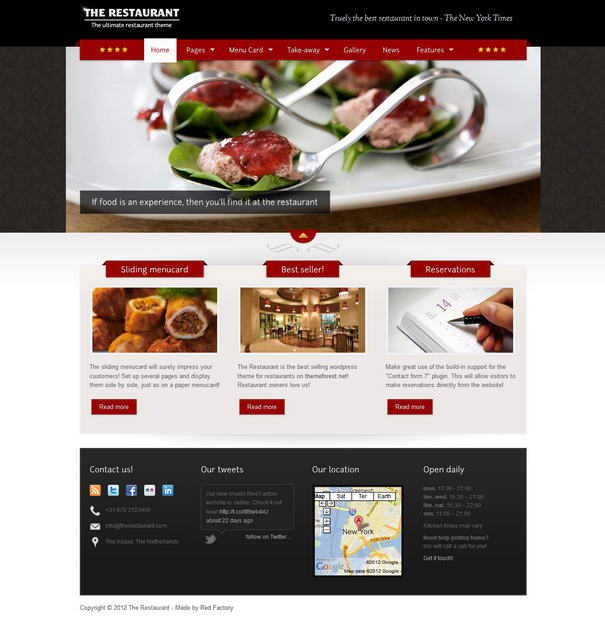 Restaurant Themes The Restaurant