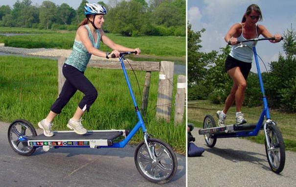 Treadmill Bike