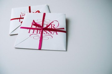 Wedding Invitation - Peter and Thessa (1)