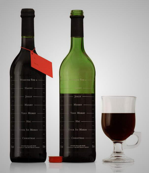 Label Designs Buddy Mulled Wine