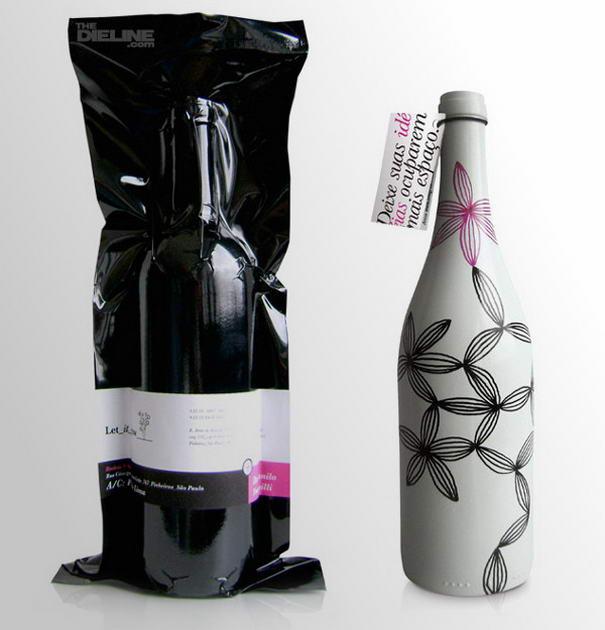 Let It Grow Wine Bottles