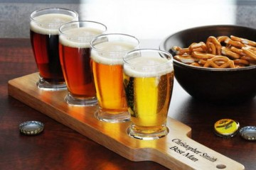 Personalized Beer Flight Gift