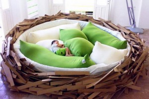 The Birds Nest Bed