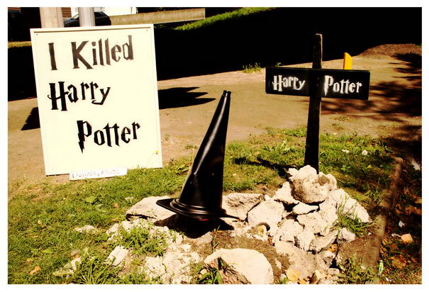 LaDamenRouge killed Harry Potter