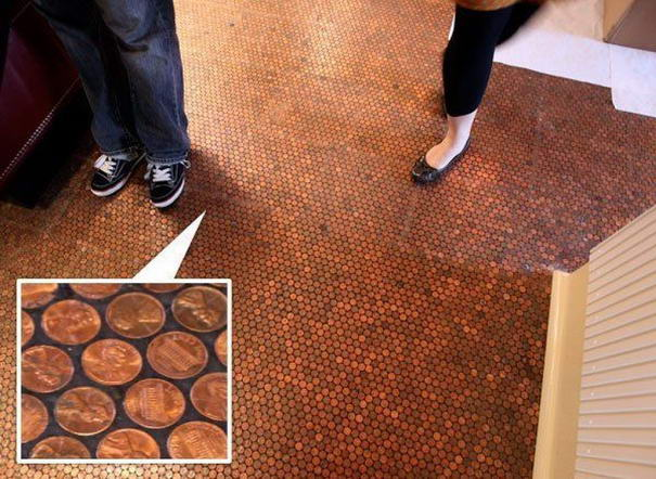 The coin floor
