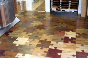 The puzzle floor