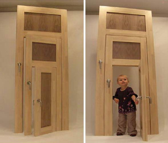 Установка деревянных межкомнатных дверей своими руками фото