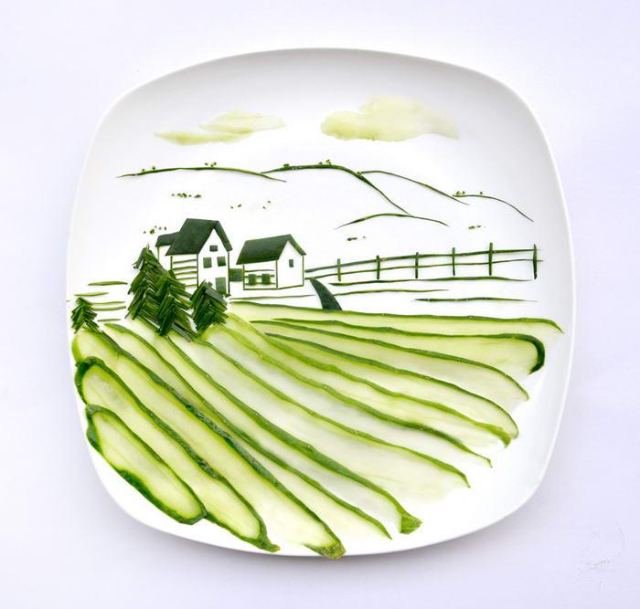 Cucumber Landscape