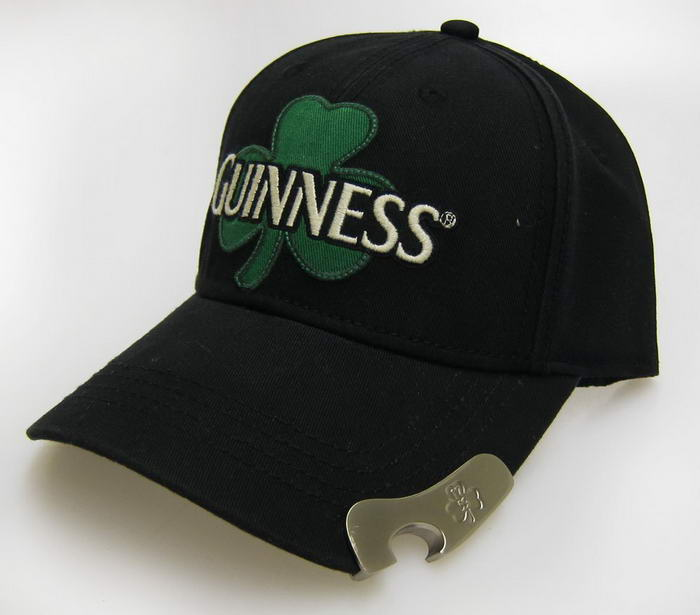 Guinness Clover Black Bottle Opener Cap