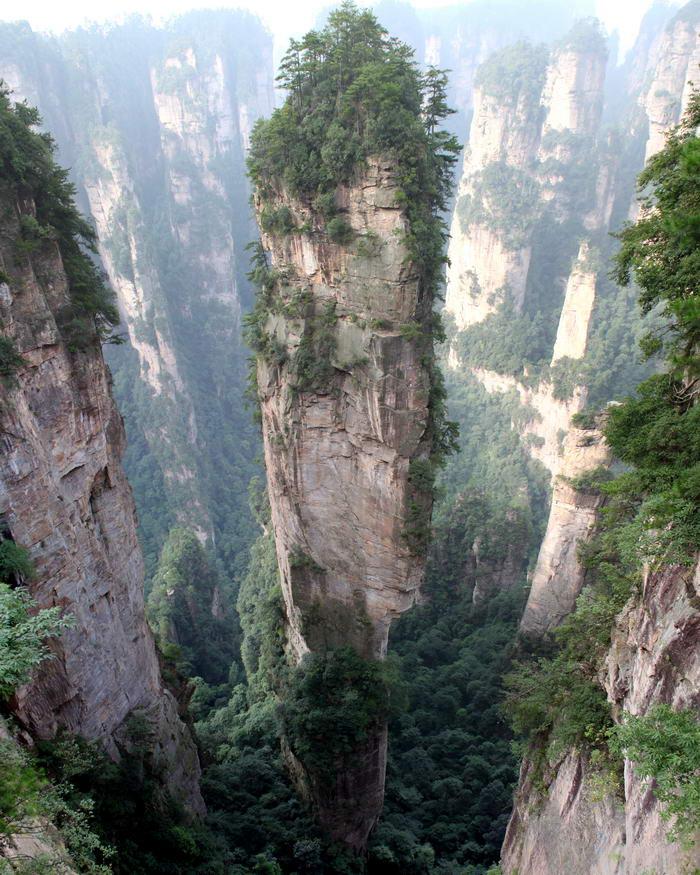 Tianzi Mountains