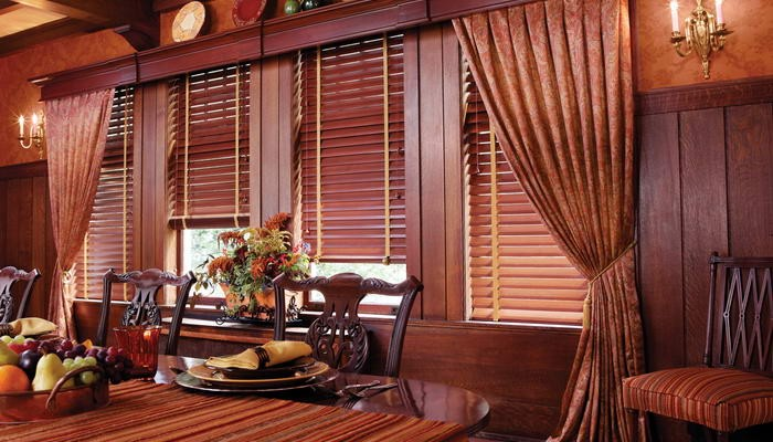 Wood and Faux Wood Blinds
