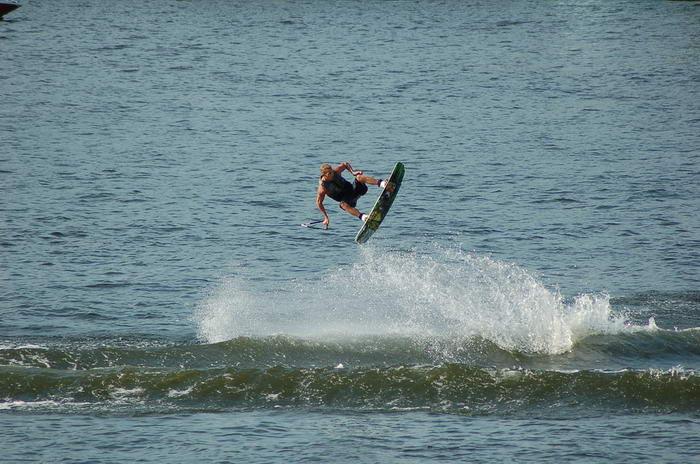 Wakeboarding by Ezalis
