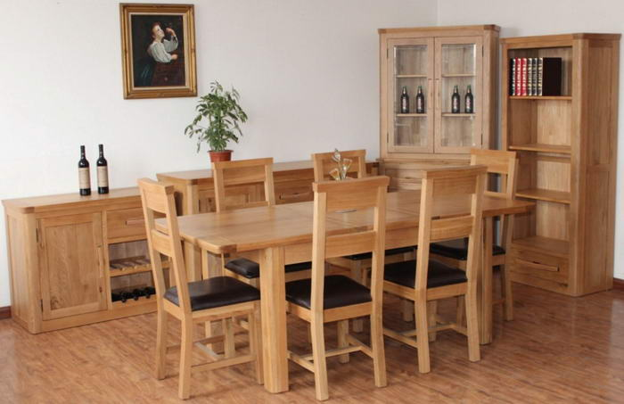 Oak Dinner Table