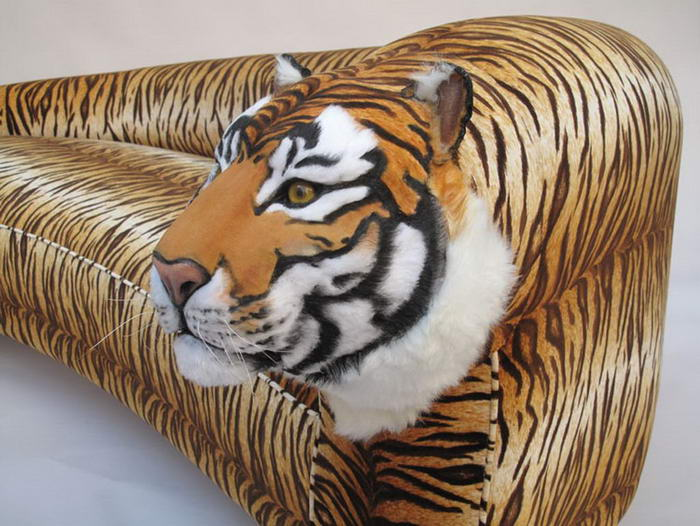 Design Trends Tiger Sofa