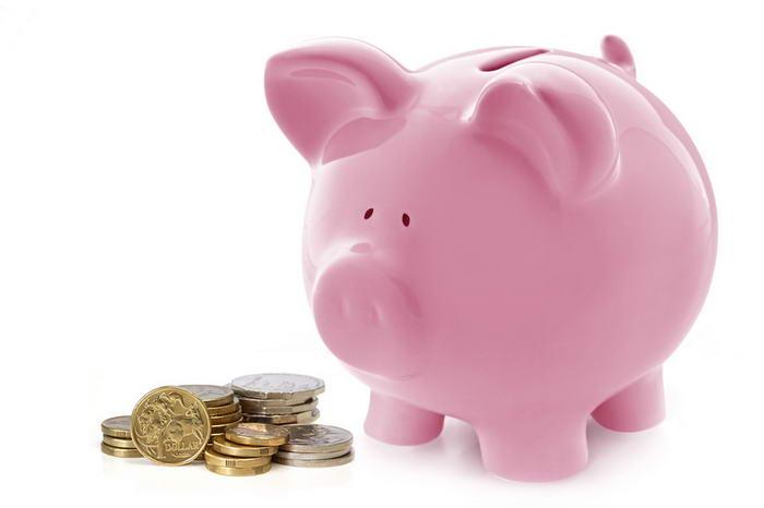 Financial Planning Piggy Bank