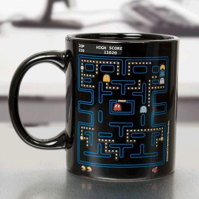 Pac-Man Heat Changing Mug