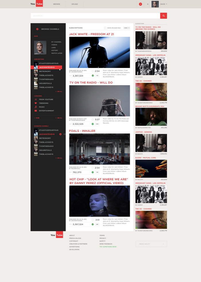 Youtube by Alexandr Brinza