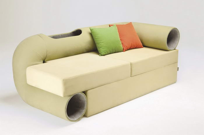 Cat Tunnel Sofa (2)