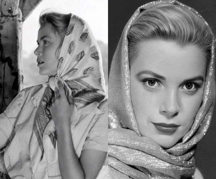 Grace Kelly in Scarf
