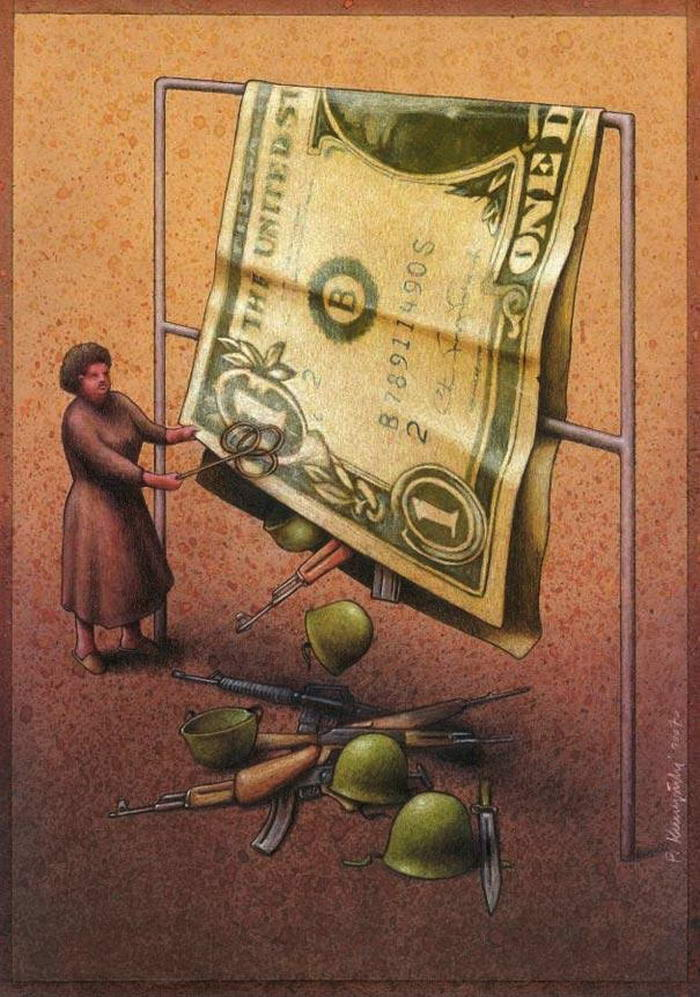 10 Most Striking And Clever Cartoons By Pawel Kuczynski