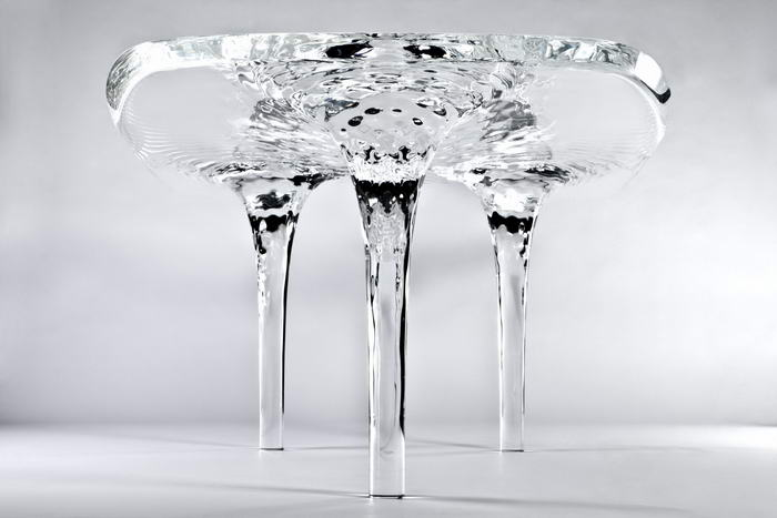 Liquid Glacial Table