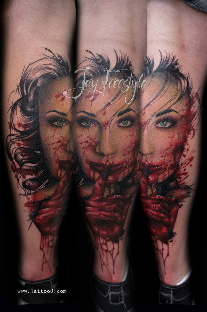 10 most remarkable freehand tattoo designs by jay freestyle for Most expensive tattoo artist