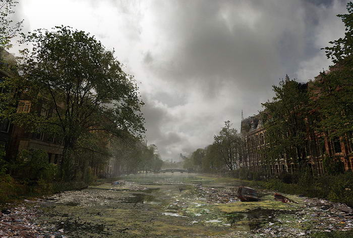 Amsterdam Canal System - After
