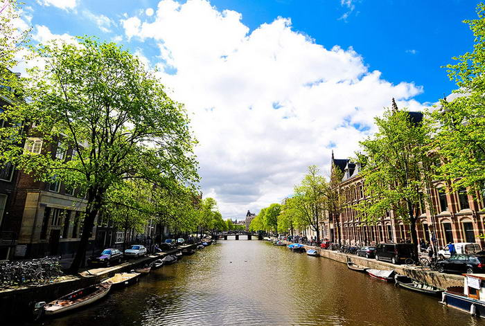 Amsterdam Canal System - Before