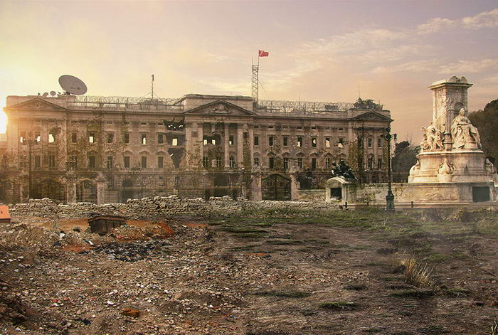 Buckingham Palace  - After