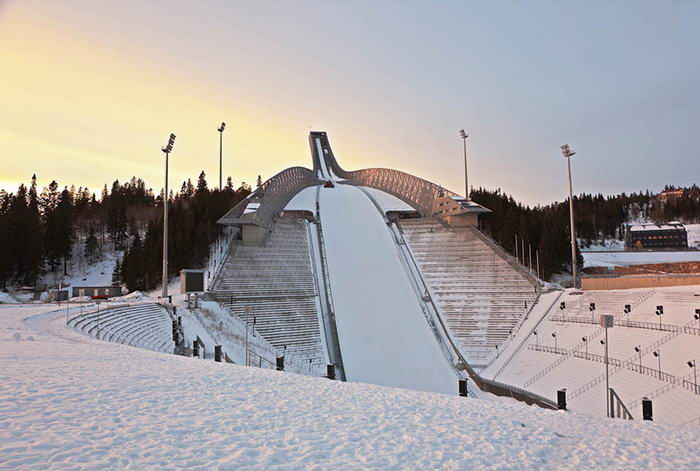 Holmenkollen Ski Slope - Before