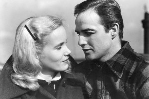 Marlon Brando with Eva Marie Saint
