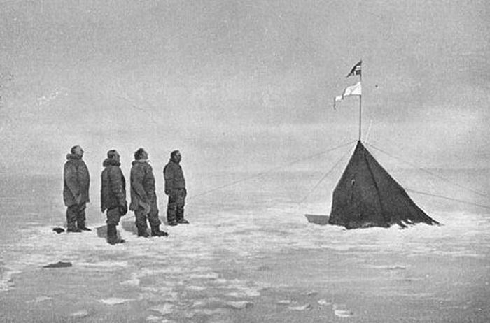 Aan de Zuidpool