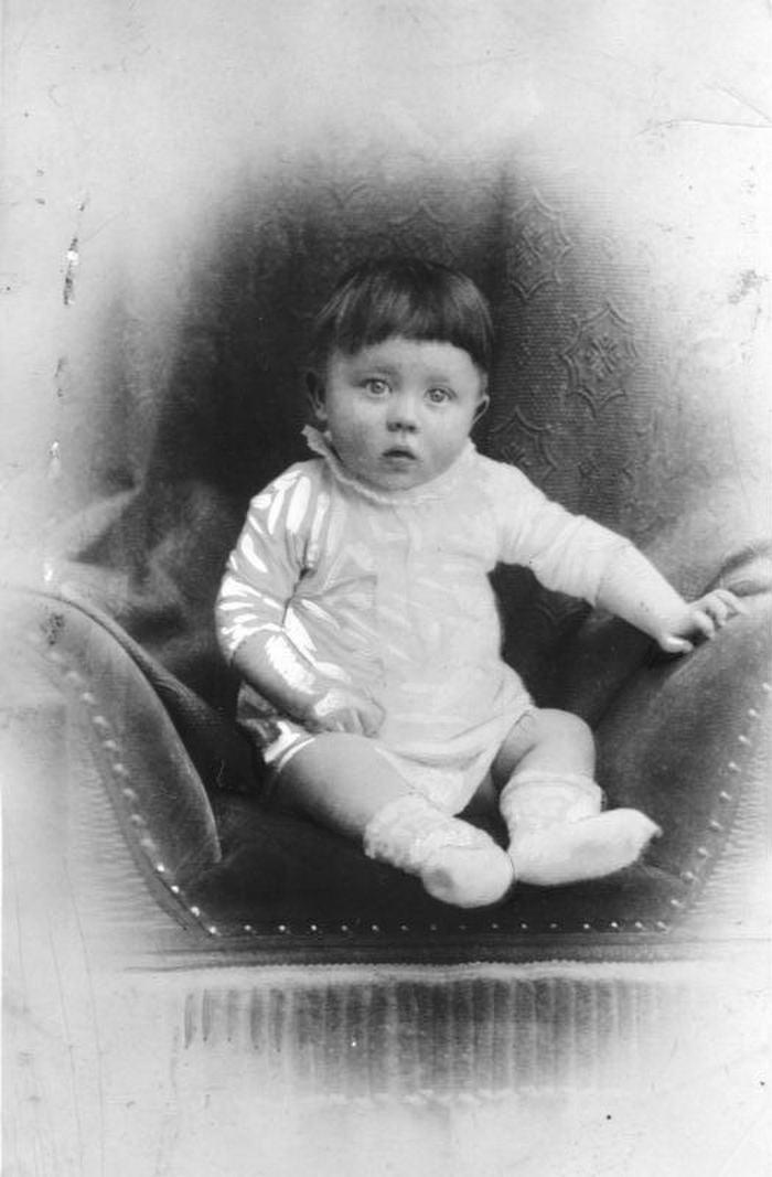 Adolf Hitler Kinderbild