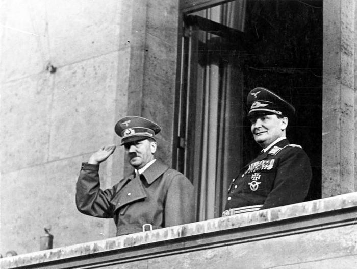 Adolf Hitler und Hermann Goring