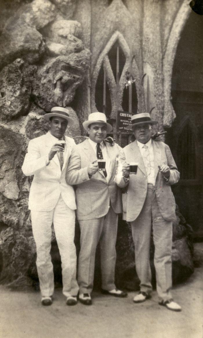 Al Capone at Cuba