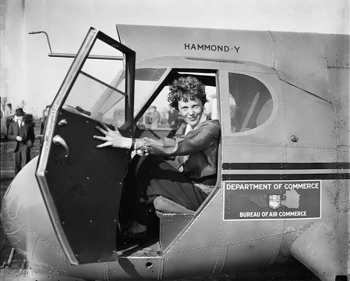 Amelia Earhart LOC