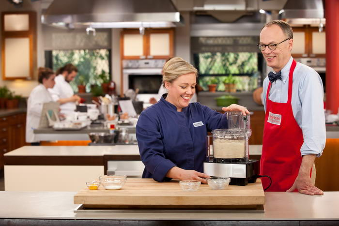 Christopher Kimball And Test Kitchen Chefs