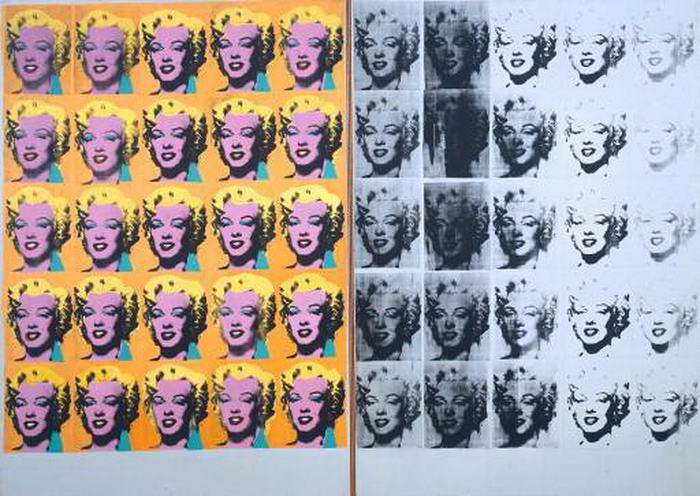 Andy Warhol Marilyndiptych
