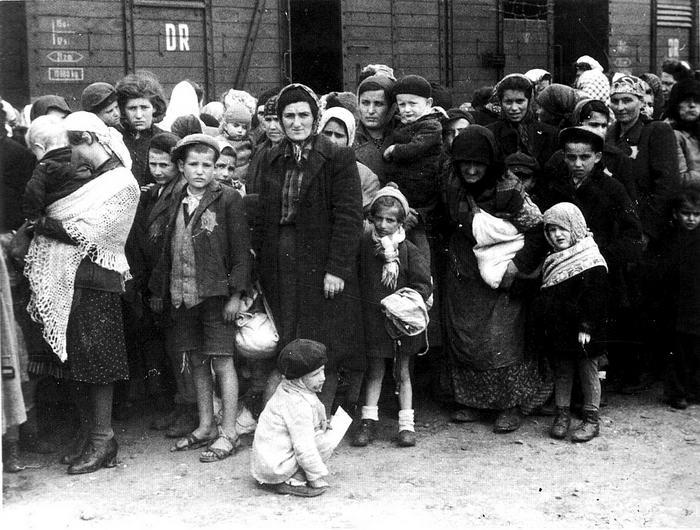 Ankunft ungarischer Juden