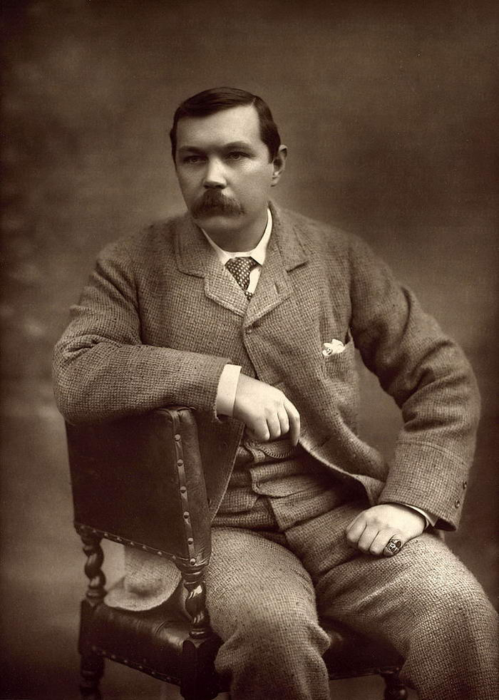 Arthur Conan Doyle by Herbert Rose Barraud