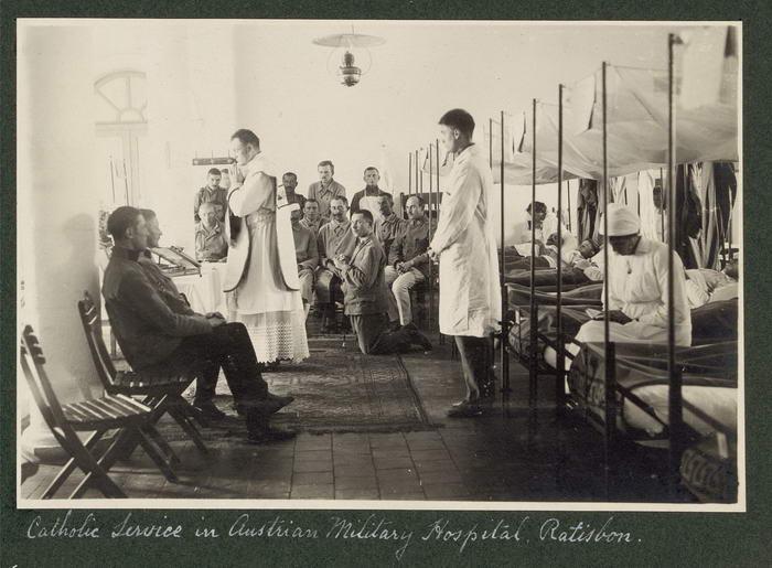 Austrian military hospital WWI