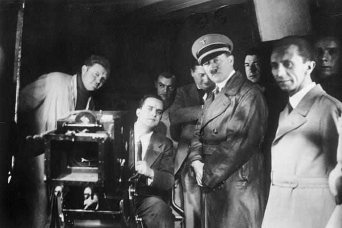 Besuch von Hitler und Goebbels