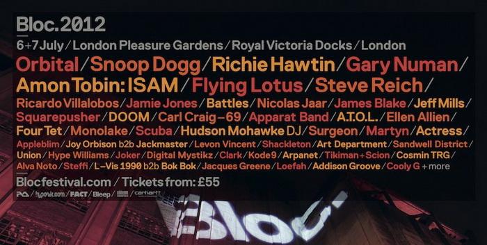Bloc Festival 2012